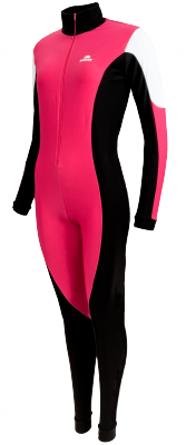 Hunter Speed  suit Pink/black with black cap