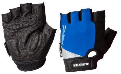 Hunter bike gloves Black/Cobalt