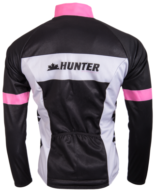 Hunter Thermojack Perfect Pink Collection met Windvanger