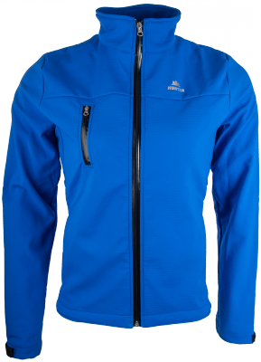 Hunter Soft Shell Jack Blauw Men