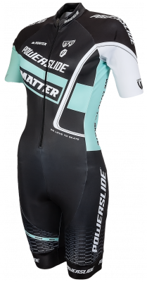 Powerslide inline skinsuit World Woman Mint