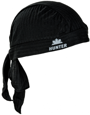Hunter Piratenmuts helm bandana WIT