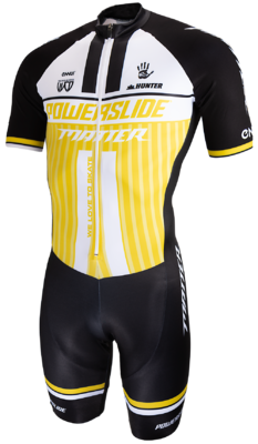 Powerslide Inline Skinsuit World yellow 2019