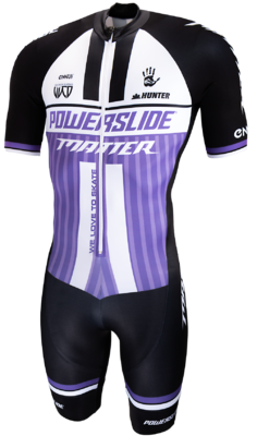 Powerslide Inline Skinsuit World purple 2019