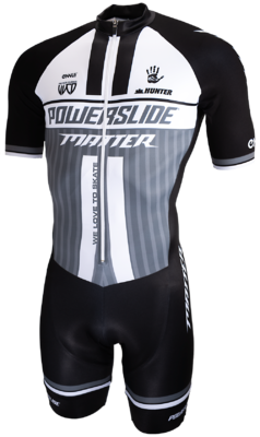Powerslide Inline Skinsuit World grau 2019
