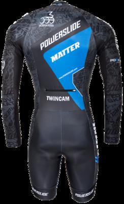 Powerslide Skeelerpak Speed  World Blue 2017 Long Sleeve