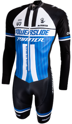 Powerslide Skate suit wrld bleu long sleeve