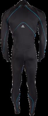 Hunter Speedpak lycra Pro  Zwart/Piping Blauw