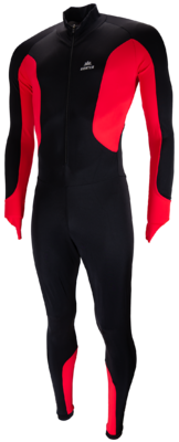Hunter Lycra speedpak zwart/wit