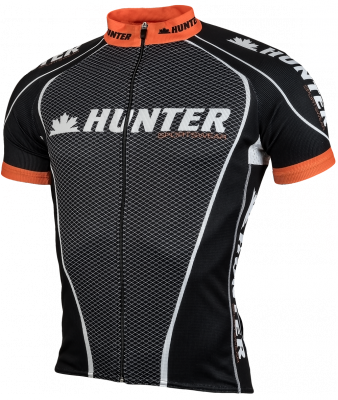 Hunter MC Collectie shirt km met rits
