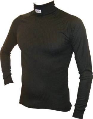 Shirt long sleeve turtleneck