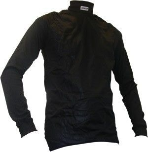 Shirt lange mouw col + windstopper