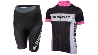Hunter Fietstenue Kort Perfect Pink