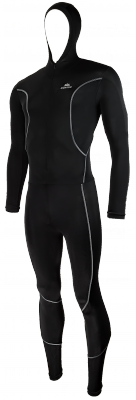 Hunter Lycra icesuit with cap