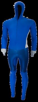 Speedpak met rubber  Marineblauw/Zilver
