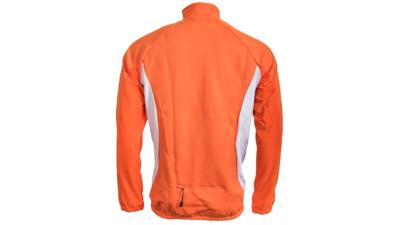 Hunter Windtex Jack Oranje/Antraciet/Grijs