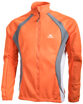 Hunter Veste d'hiver Orange / Anthracite / Gris