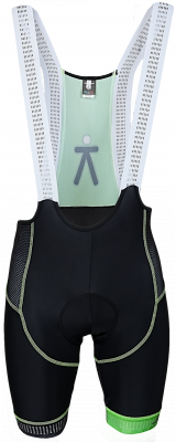 Bib shorts green