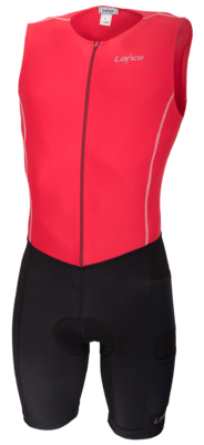 Power Trisuit Rood