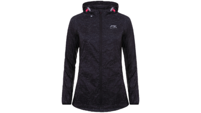 Women's running jacket - HARRIET [black]