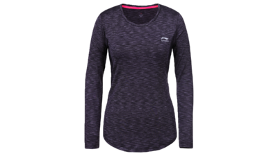 Li-Ning Women's running top - HAVEN [black]