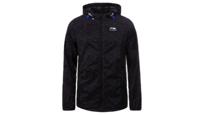 Men's running jacket - HARDEN [black]