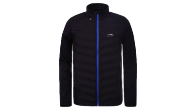 Men's running jacket - HEIKKI [black]