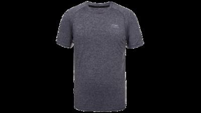 Fabio T-shirt anthracite texture