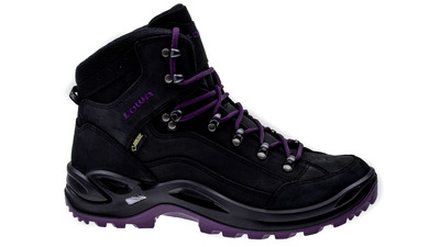 Lowa Renegade GTX Mid black/blackberry