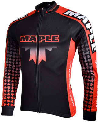 Maple Jacket Black/Red