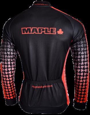 Maple Koerstrui Lange mouw Zwart/Rood