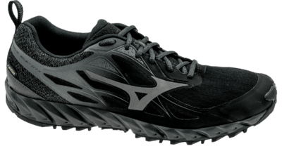 Mizuno Men's Wave Ibuki GTX black/metallic shadow/dark shadow