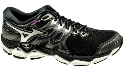 Mizuno Wave Horizon 3 black/metallic shadow/super pink