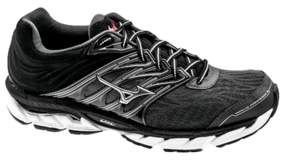 Mizuno Wave Paradox 5 dark shadow/silver/fiery red