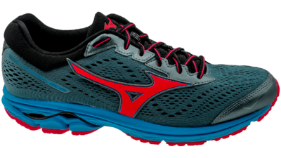 Mizuno Wave Rider 22 blue mirage/fiery coral/diva blue