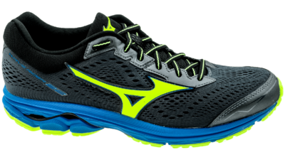 Mizuno Wave Rider 22 ombre blue/safety yellow/diva blue