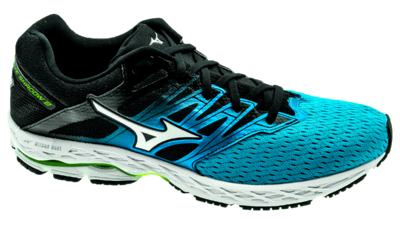 Mizuno Wave Shadow 2 blue jewel/silver/safety yellow