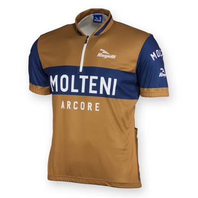 Replica bike shirt Molteni short sleeve