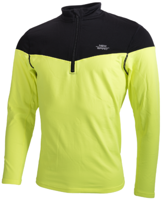 New Spirit Hardloop Shirt yellow black