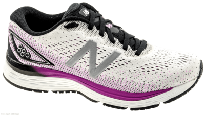 New Balance 880 v9 white/voltage violet/black