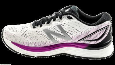 New Balance 880 v9 white/voltage violet/black