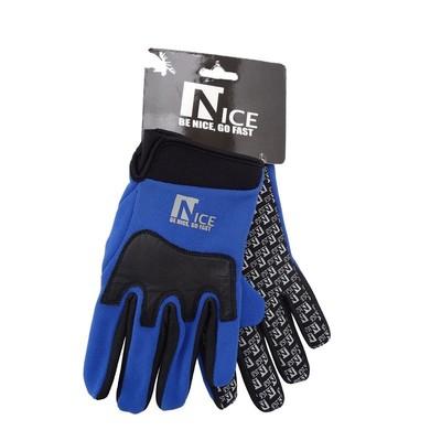 Nice snijvaste handschoenen blauw