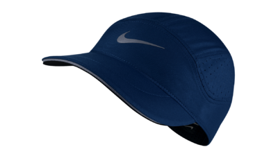 Nike Dri-Fit AeroBill running cap [binary blue]