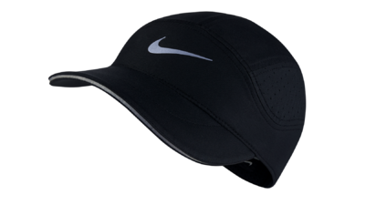 Women's Dri-Fit AeroBill running cap [black]