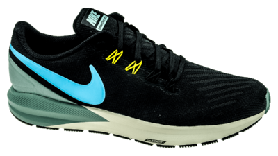 Nike Air Zoom Structure 22 black/blue fury/aviator grey