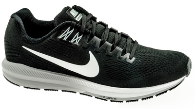 Air Zoom Structure 21 Black/White-Wolf Grey