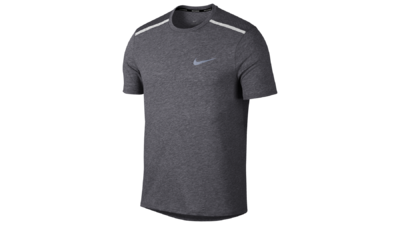 Breathe Tailwind Running Top gunsmoke/metallic silver