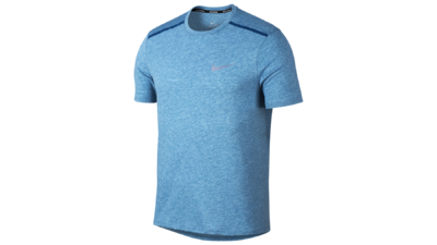 Breathe Tailwind Running Top blue force