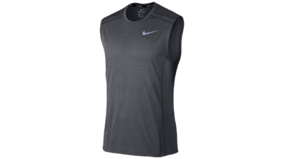 Men's Cool Miler top [anthracite/wolf grey]