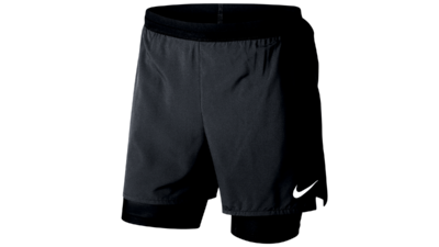 Men's Distance 2-in-1 running shorts - black